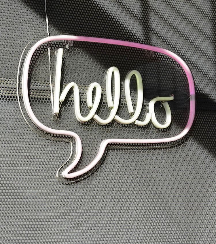 Hello Sign Image