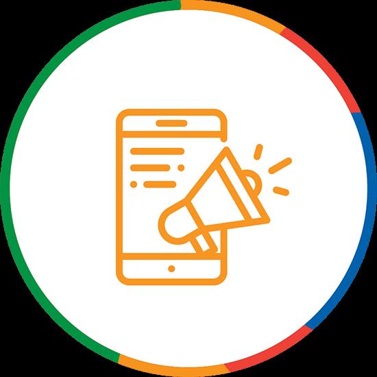 Digital Marketing Icon M4rr